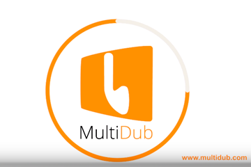 Logo Spot MultiDub. Video de Creatia ProVideo